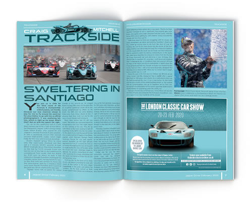 Jaguar Driver Magazine aticle - Ask Andrew