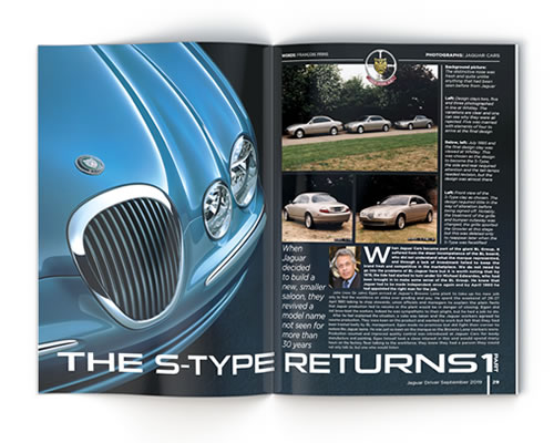 Jaguar Driver Magazine article - S-Type